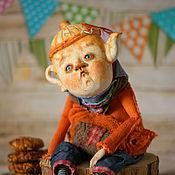 """Куклы и игрушки ручной работы. Ярмарка Мастеров - ручная работа Мистер Чайничек """"А не выпить ли нам чайку?"""". Handmade."""