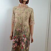 Одежда handmade. Livemaster - original item Felted dress for a party