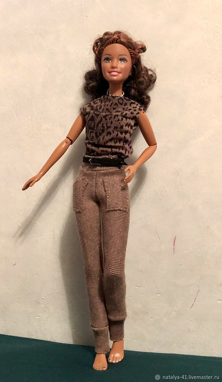 Одежда для Барби: брючный комплект для Барби!, Одежда для кукол, Москва, Фото №1