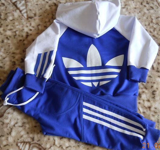 Одежда для мальчиков, ручной работы. Ярмарка Мастеров - ручная работа. Купить Спортивный костюм для мальчика. Handmade. Тёмно-синий