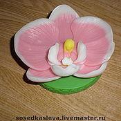 """Косметика ручной работы. Ярмарка Мастеров - ручная работа Мыло """"Орхидея"""". Handmade."""