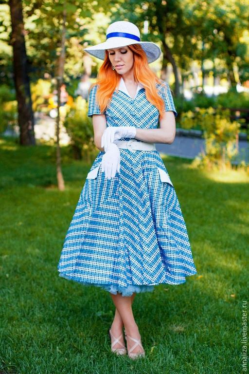 Фото платье в стиле 50 х