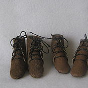 Материалы для творчества ручной работы. Ярмарка Мастеров - ручная работа ботиночки для тильд. Handmade.