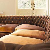 Для дома и интерьера ручной работы. Ярмарка Мастеров - ручная работа Угловой диван Честерфилд. Handmade.