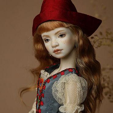Куклы и игрушки ручной работы. Ярмарка Мастеров - ручная работа Куклы: Шарнирная фарфоровая кукла «Старая, старая сказка». Handmade.