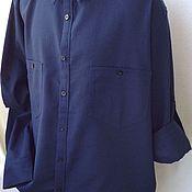 Одежда ручной работы. Ярмарка Мастеров - ручная работа Рубашки мужские льняные. Handmade.