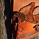 Женские сумки ручной работы. Заказать Сумочка-карман  Утро раннее осень поздняя. Мастерская ГришЛАНдия (grishlandia). Ярмарка Мастеров.
