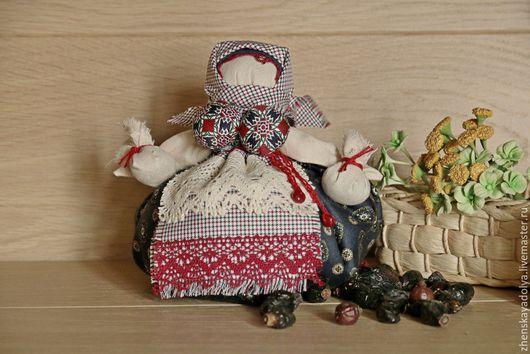 Народные куклы ручной работы. Ярмарка Мастеров - ручная работа. Купить Обережная кукла Кубышка-травница, на очищение и здоровье. Handmade.