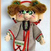 Куклы и игрушки ручной работы. Ярмарка Мастеров - ручная работа Кукла Душечка. Handmade.
