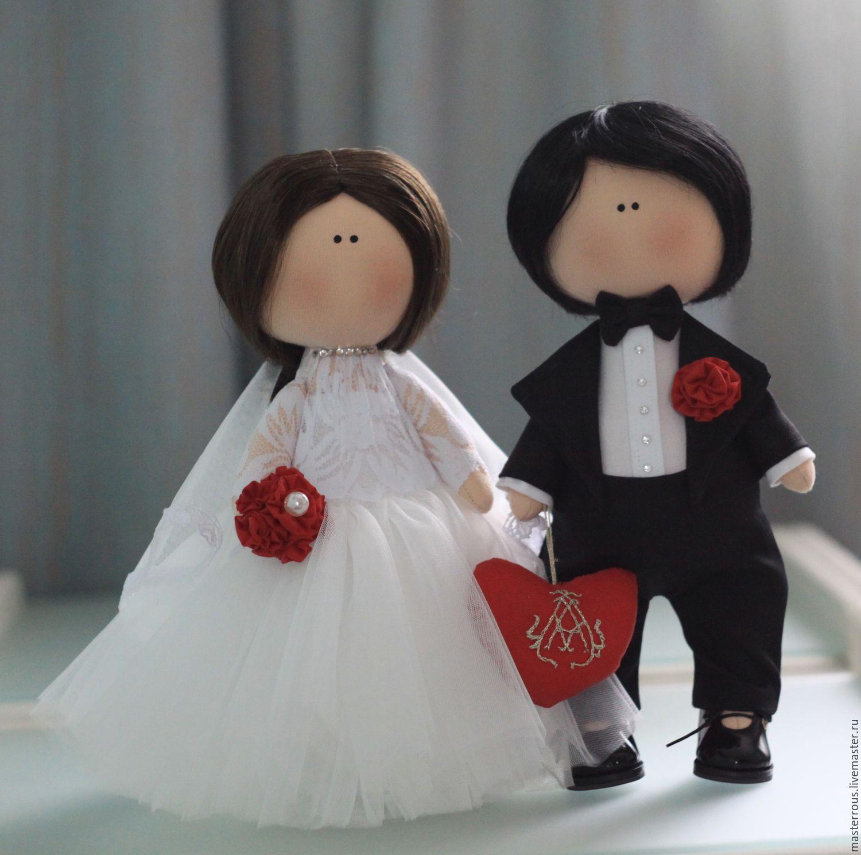 Жених и невеста куклы своими руками