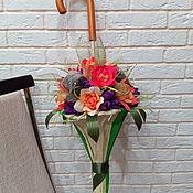 Подарки к праздникам handmade. Livemaster - original item A candy bouquet. Handmade.