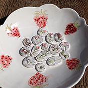 Материалы для творчества handmade. Livemaster - original item Porcelain cabochon, 2-3cm. Handmade.