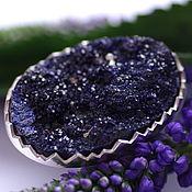 Украшения handmade. Livemaster - original item Ring with azurite