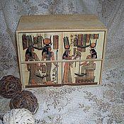 """Для дома и интерьера ручной работы. Ярмарка Мастеров - ручная работа Комод """"Пески Египта"""". Handmade."""