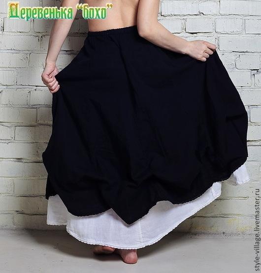 """Юбки ручной работы. Ярмарка Мастеров - ручная работа. Купить Бохо-юбка """"Тюльпашка"""". Handmade. Бохо, красивая юбка"""