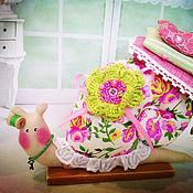 Куклы и игрушки ручной работы. Ярмарка Мастеров - ручная работа улитка-игольница Маргаритка)    ПОВТОР. Handmade.
