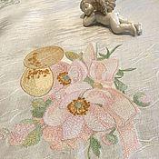 Для дома и интерьера handmade. Livemaster - original item TABLECLOTHS: Tablecloth-naperon embroidered
