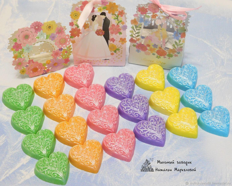 Свадебное мини-мыло комплимент для гостей, Подарки, Иваново,  Фото №1