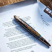 Ручки ручной работы. Ярмарка Мастеров - ручная работа Винтажный подарок Викторианская ручка в состаренной меди. Handmade.
