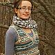 Жилеты ручной работы. Ярмарка Мастеров - ручная работа. Купить безрукавка Ivy League vest. Handmade. Разноцветный, жилет вязаный