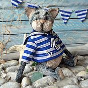 Куклы и игрушки handmade. Livemaster - original item Teddy Kotick Ezra. Handmade.