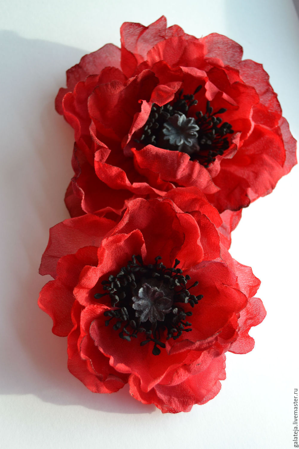 Silk Flowers Poppy Love Bloom Shop Online On Livemaster With
