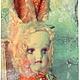 Коллекционные куклы ручной работы. Ярмарка Мастеров - ручная работа. Купить Банни. Handmade. Оранжевый, плюш
