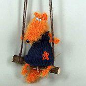 Куклы и игрушки ручной работы. Ярмарка Мастеров - ручная работа Лиса в свободное время. Handmade.