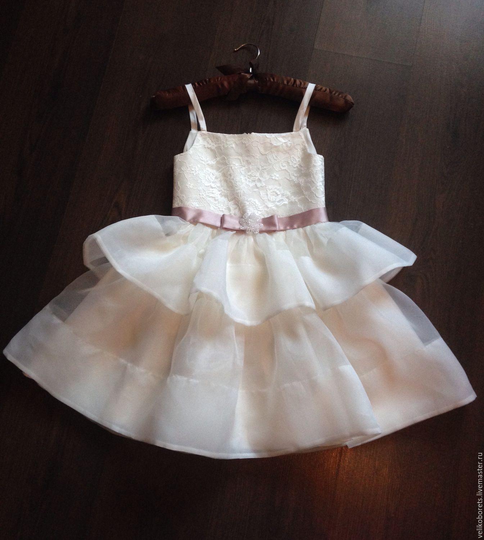 Платье Для Праздника Детское Купить