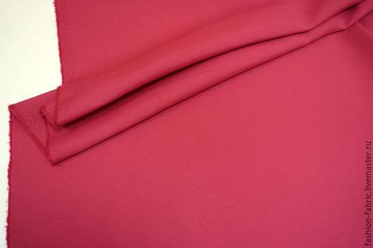 Шитье ручной работы. Ярмарка Мастеров - ручная работа. Купить Ткань Костюмная шерсть с шелком Малина PRT 7281677 Италия Цена за метр. Handmade.