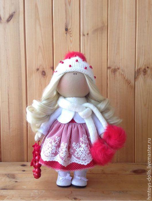 Коллекционные куклы ручной работы. Ярмарка Мастеров - ручная работа. Купить Кукла текстильная ручной работы Ellina.. Handmade.
