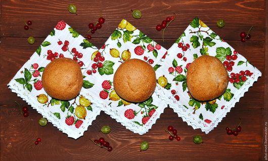 Кухня ручной работы. Ярмарка Мастеров - ручная работа. Купить Садовые ягоды - кружевные салфетки. Салфетки на стол.. Handmade.