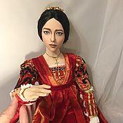 Куклы и пупсы ручной работы. Ярмарка Мастеров - ручная работа Джульетта авторская кукла ( по мотивам фильма «Ромео и Джульетта». Handmade.