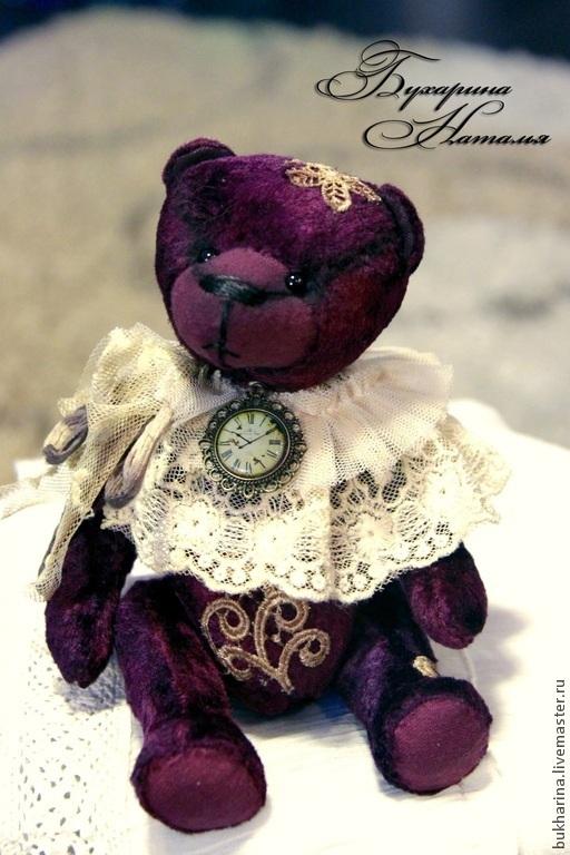 """Мишки Тедди ручной работы. Ярмарка Мастеров - ручная работа. Купить Мишка Тедди """"Пока часы 12 бьют...."""". Handmade."""