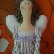 Куклы Тильда ручной работы. Ярмарка Мастеров - ручная работа Сиреневый зефир. Handmade.