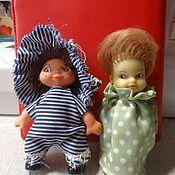 Винтаж ручной работы. Ярмарка Мастеров - ручная работа Маленькие куколки 80-х. Handmade.