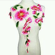 Красочное кружево цветы, комплект из 2 шт.