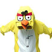 Одежда handmade. Livemaster - original item Angry Birds - Kigurumi - Custom Handmade - Anti-pill Fleece Pyjamas. Handmade.