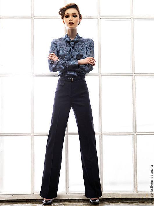 Купить стильную блузку. Пошив одежды на заказ. Индивидуальный пошив блузки. Ярмарка Мастеров - ручная работа. Дизайнер Лана Морозова.