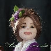 Куклы и игрушки ручной работы. Ярмарка Мастеров - ручная работа Авторская войлочная кукла Домовушка Софи. Handmade.