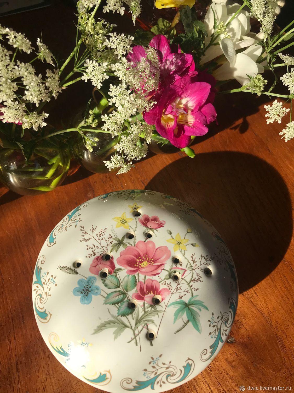 Pomander 'wild Rose', porcelain, Holland, Vintage interior, Arnhem,  Фото №1