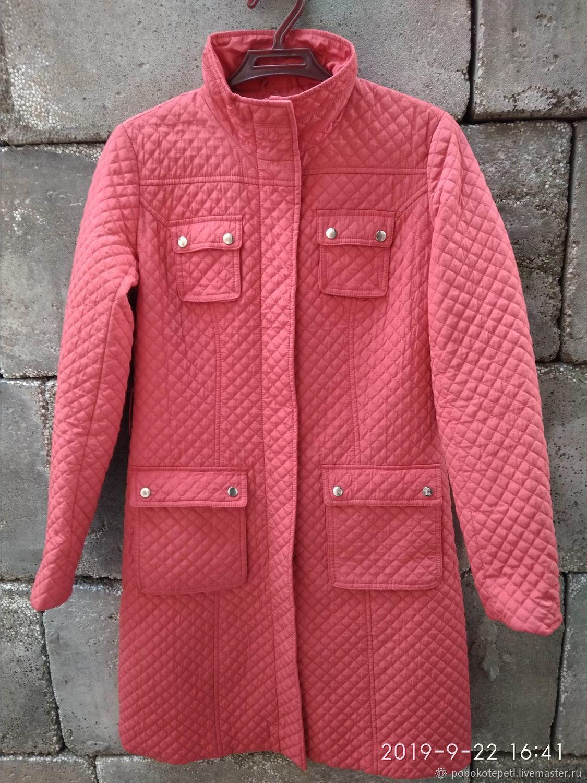 Vintage quilted coat zarina, vintage Europe, Vintage clothing, Novorossiysk,  Фото №1