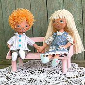 Куклы и игрушки ручной работы. Ярмарка Мастеров - ручная работа Пара игровых кукол.. Handmade.