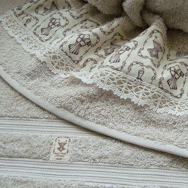 Для дома и интерьера ручной работы. Ярмарка Мастеров - ручная работа ДАМСКИЕ ШТУЧКИ - махровые полотенца в ассортименте. Handmade.