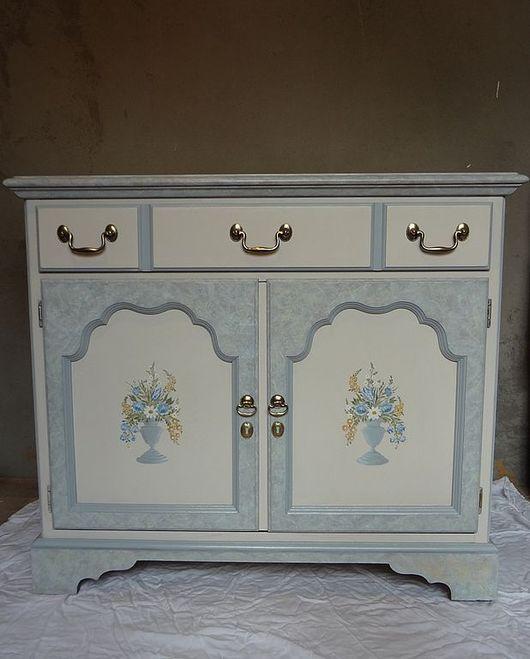"""Мебель ручной работы. Ярмарка Мастеров - ручная работа. Купить Комод """"Анастасия"""". Handmade. Мебель прованс, серый, перекраска мебели"""