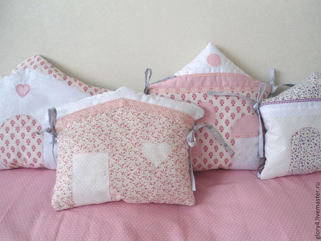 Комплект для детской кроватки ручной работы