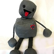 Куклы и игрушки ручной работы. Ярмарка Мастеров - ручная работа Робот. Handmade.