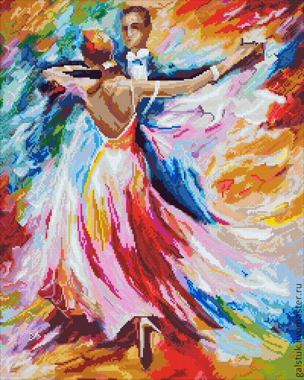 Картинки нарисованные бальные танцы