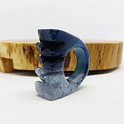 Украшения handmade. Livemaster - original item 20 Ring ring made of tinted agate Modern. Handmade.