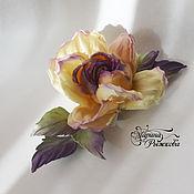 """Украшения ручной работы. Ярмарка Мастеров - ручная работа Роза """"Violetta"""". Handmade."""